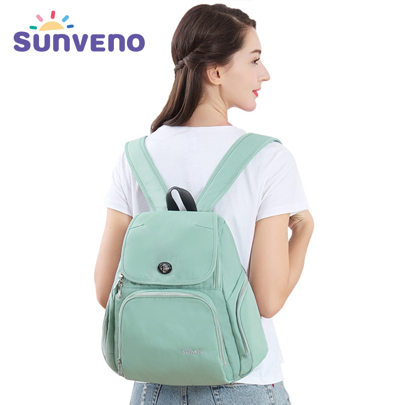 Sunveno Fashion Mummy Maternity Diaper Backpack Nappy Bag DesignerNursing Bag for Baby Care fashion cute panda baby mummy diaper nappy bags keep fresh lunch breast milk bag thermal portable travel picnic hobos baby care