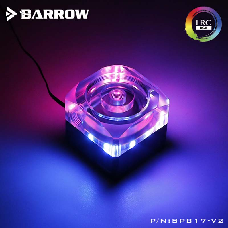 Barrow water cooler PWM speed control type Expandable Pump box integration 17W water pump set Aurora heatsink gadgetBarrow water cooler PWM speed control type Expandable Pump box integration 17W water pump set Aurora heatsink gadget