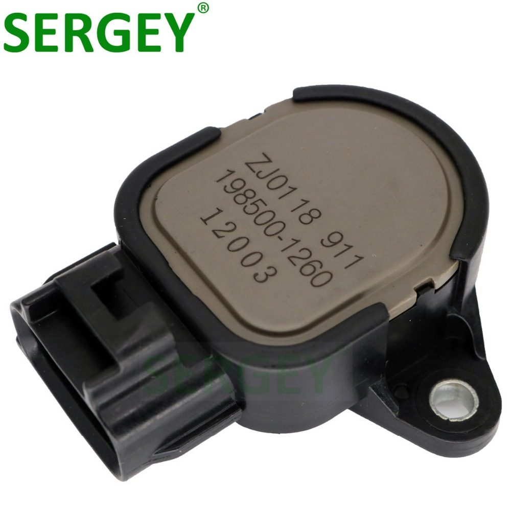 Original Throttle Position Sensor OEM ZJ0118911 ZJ01-18-911 198500-1260 BP2Y18911 BP2Y-18-911 For MAZDA 3 1.6L TPS Sensor