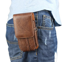 Vertical Horizontal Man Belt Clip Mobile Phone Cases Pouch Outdoor Bags For ZTE Nubia Z17 12