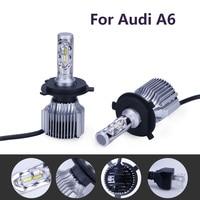 2Pcs 70W Super Bright 6000lm H7 LED H1 Car Headlight H3 Fog Light For Audi A6