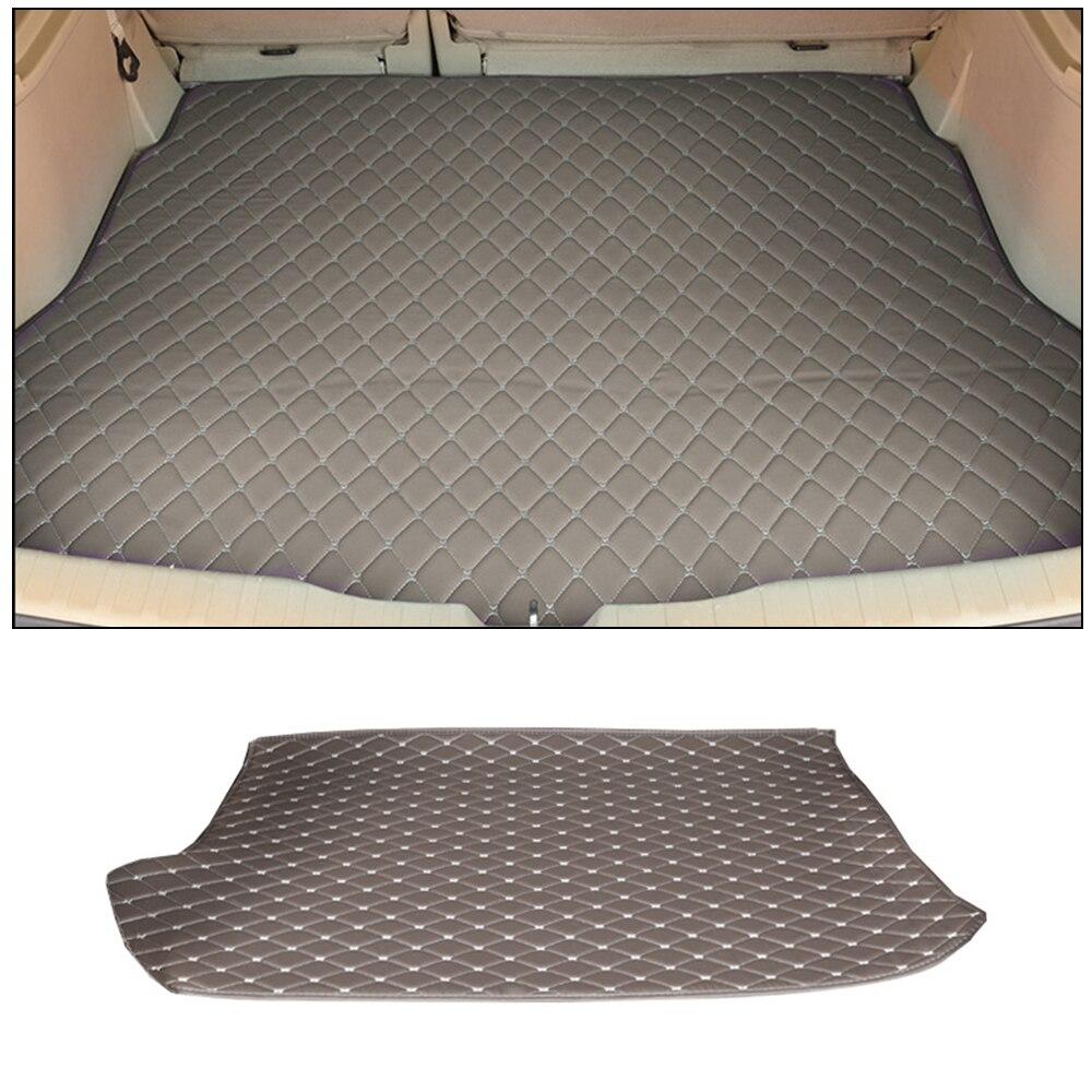 Tapis de boîte de queue de boîte de réserve après le tapis d'entrepôt accessoires d'intérieur de voiture pour la société de moteur de SSANG YONG Rexton 2011