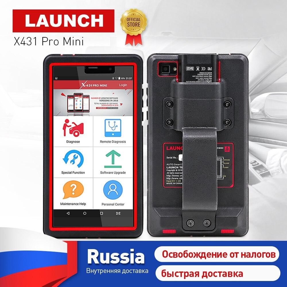 Запуск X431 Pro мини Полный системы автоматического диагностический сканер Wi-Fi/Bluetooth X-431 Pro плюсы мини-автомобиль сканер 2 года бесплатного обно...