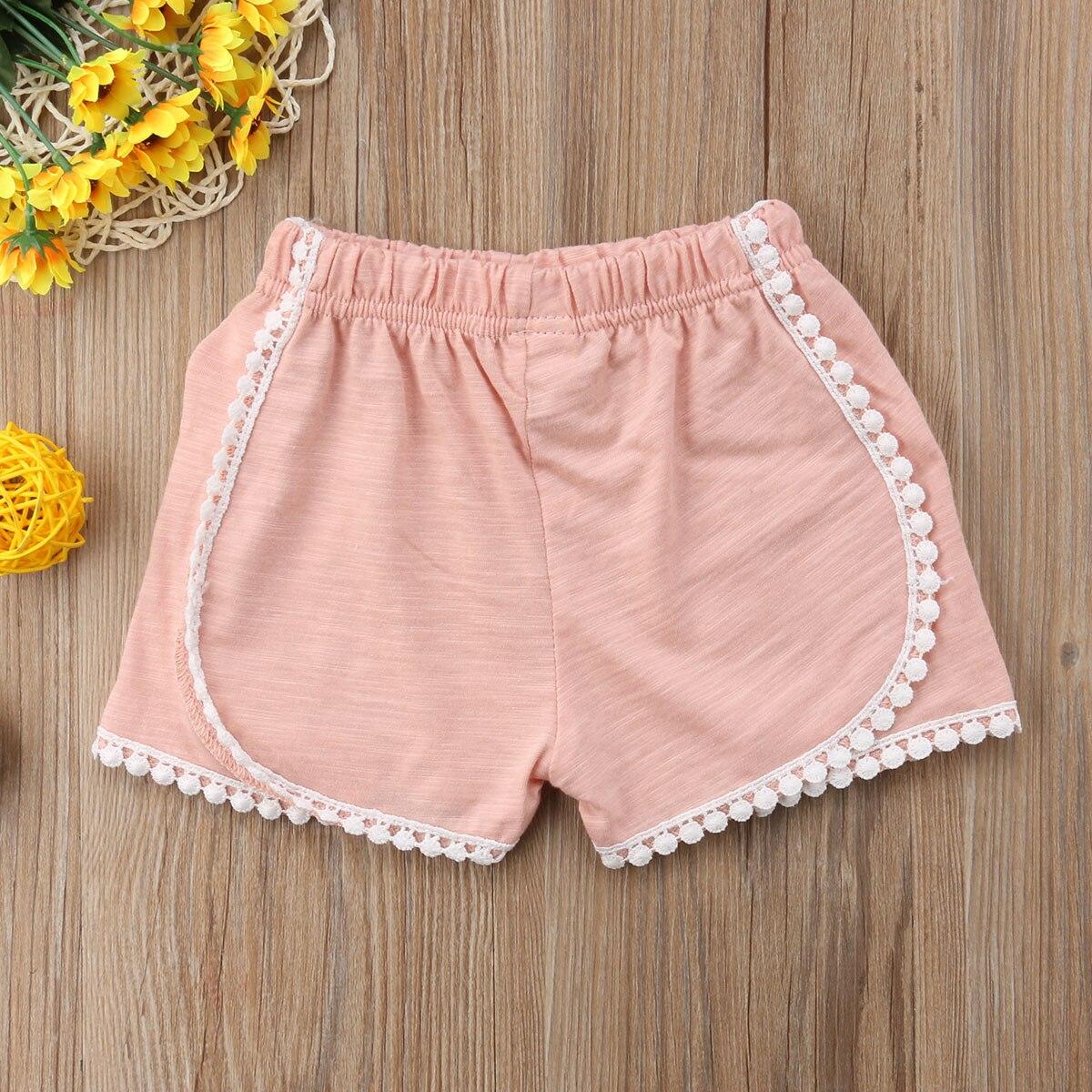 0-4 T Infantile Del Bambino Della Ragazza Dei Bambini Pantaloni Di Cotone Shorts Gonne E Pantaloni Pp Bloomers Mutandine E Boxer