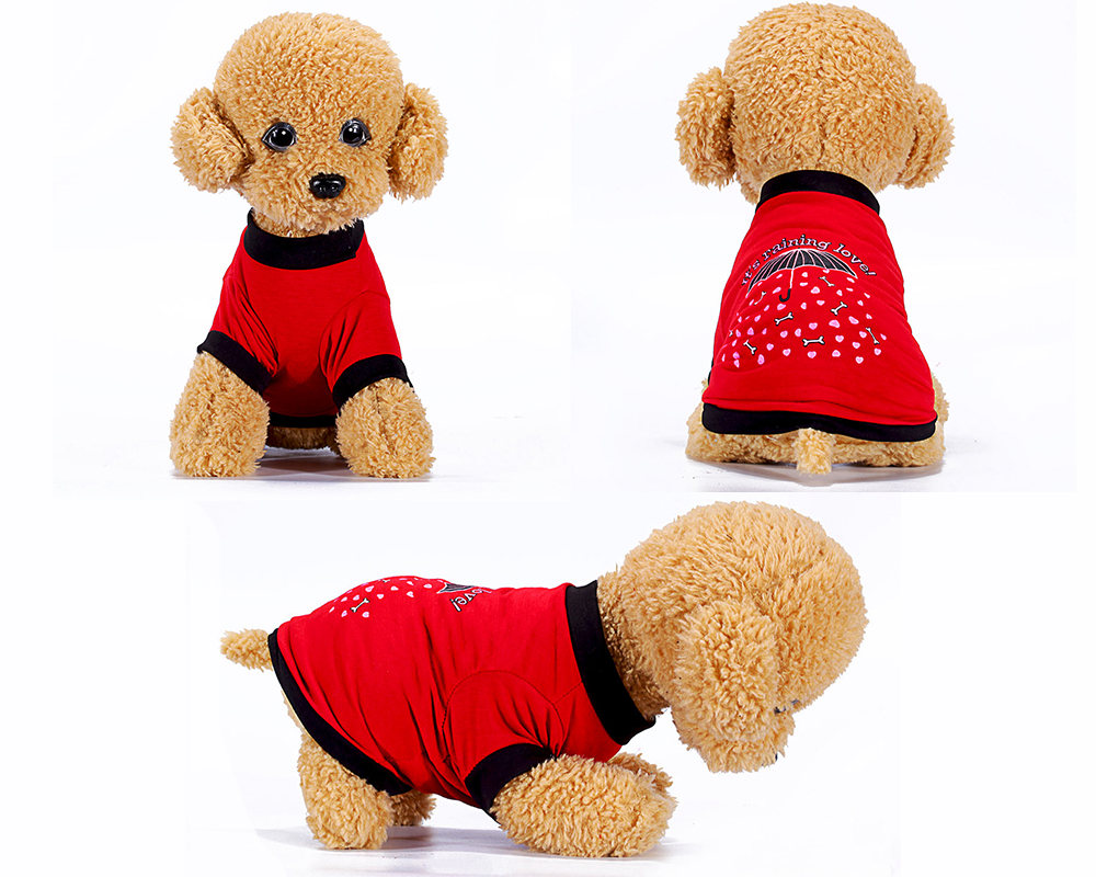 Dog Vest Pet T Shirt Clothes For Small Dogs Summer Cloth Pomeranian