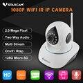 Vstarcam c38s full hd 1080 p 2.0mp câmera ip p2p wi-fi sem fio PTZ Câmera de Segurança de 2 Vias De Áudio Câmera de Vigilância ONVIF IR Cut