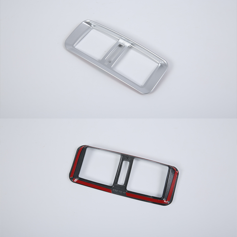 ABS Inner car accessories rear air vent Cover Trim For Nissan 2018 TERRA in Chromium Styling from Automobiles Motorcycles