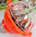 Transporte da gota Brinquedos Giroscópio de Flash Luminoso LED Peg Vermelho, Amarelo, Verde Brinquedos Clássicos Eletrônicos Pião de Plástico Luz atacado