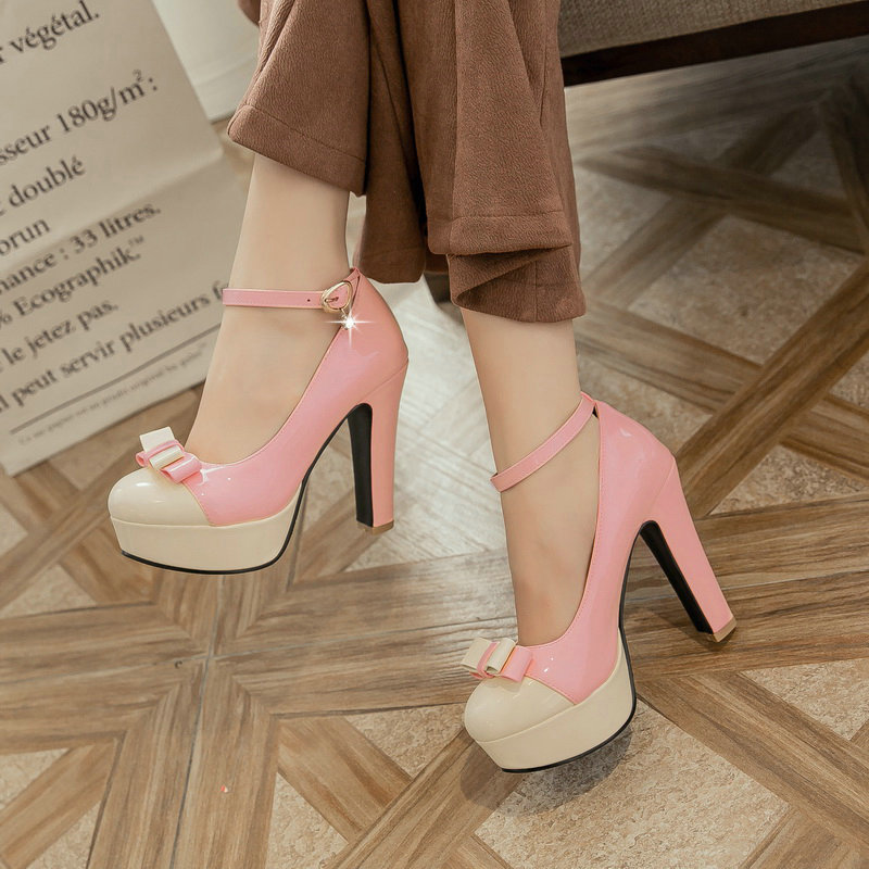 النساء حذاء منصة الصيف 5