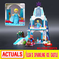 Nuevo Modelo de Bloques de Construcción del Castillo de Hielo Espumoso Princesa Elsa Anna/Elsa LELE 79168 SY373 Compatible 41062