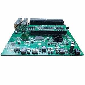 Image 3 - Reverse PoE switch 16x10M/100M PoE & 4SFP Port Gigabit Ethernet switch PCB motherboard