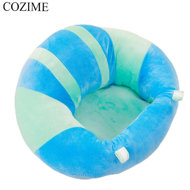 COZIME Baby Sofa Seat Soft Cotton Feeding Dining Chair Cushion Pillow  Safety Plush Legs Animal U