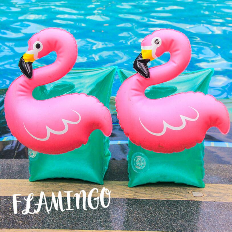 Children Arm Natant One Pair Floats Swimming Inflatables Swim Pool Ring Buoy Swim Practice Baby Boy Girl Life Rings Unicorn Air