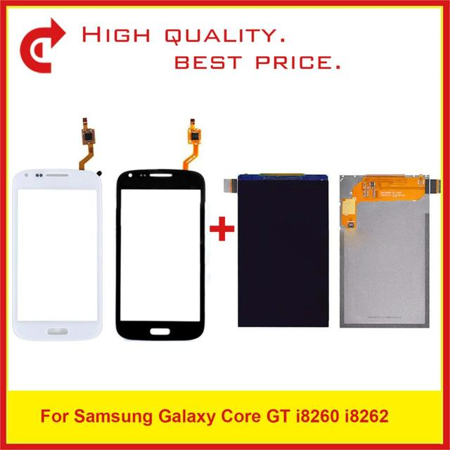 """4.3"""" For Samsung Galaxy Core i8260 i8262 Duos GT 8262 8260 LCD Display With Touch Screen Digitizer Sensor Panel Replacement"""