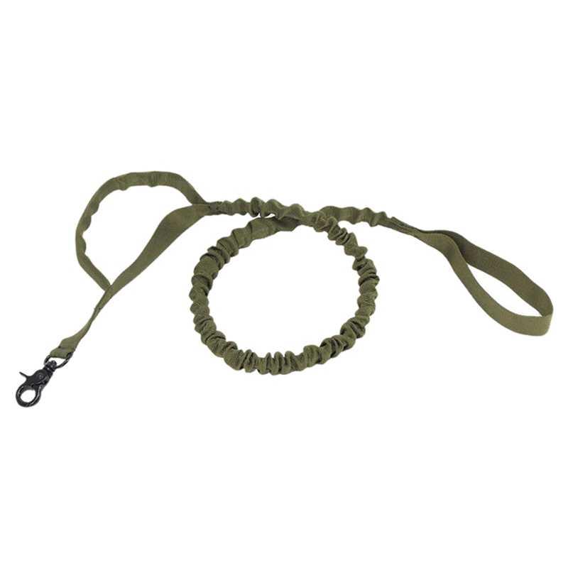 Армейский Тактический собачий поводок для домашних животных военный поводок для тренировок поводок для бега собак эластичный поводок для домашних животных для тренировок
