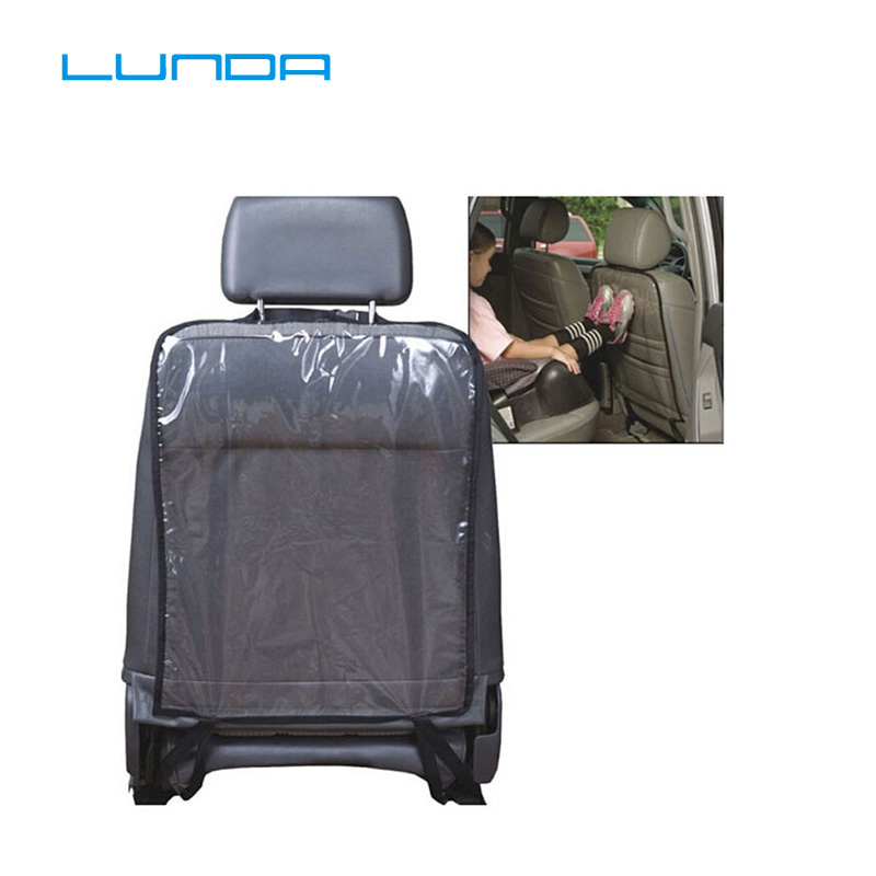 Back-Protector Car-Seat Transparent Waterproof Children PVC Kick-Mat From-Mud-Dirt