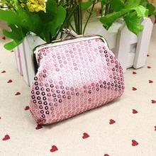 Модная женская сумочка, повседневная однотонная маленькая сумочка с блестками, кошелек для карт, кошелек для монет, Роскошный дизайнерский клатч, Сумочка Bolsas Feminina
