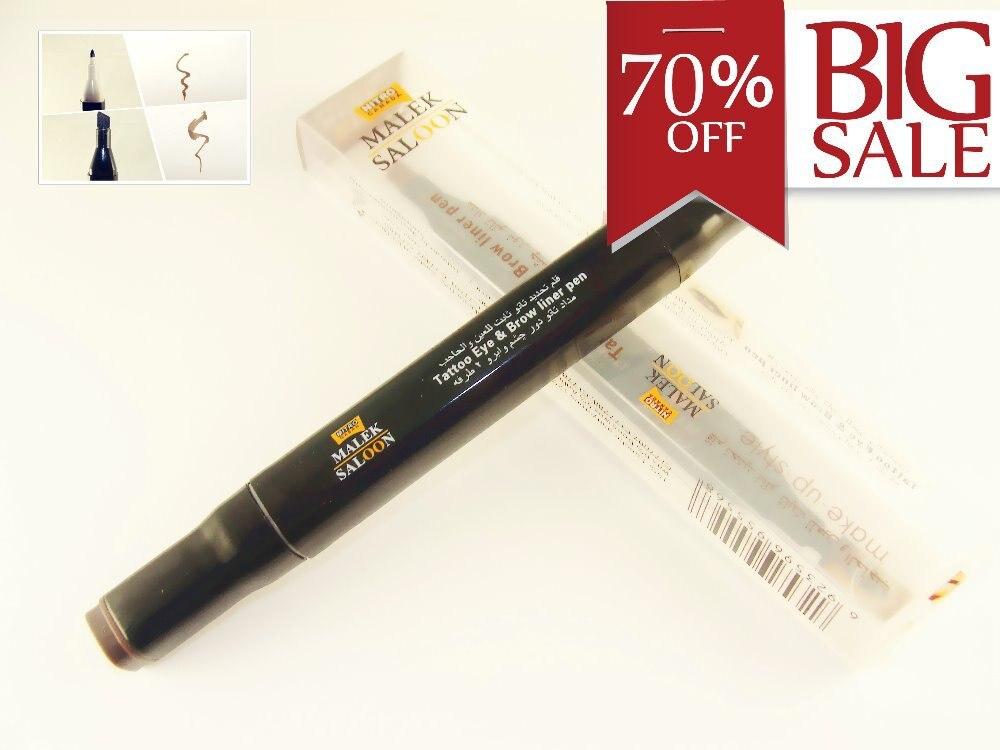 2in1 tattoo eye brow liner pen smoky eye makeup easy for Eyebrow tattoo pen