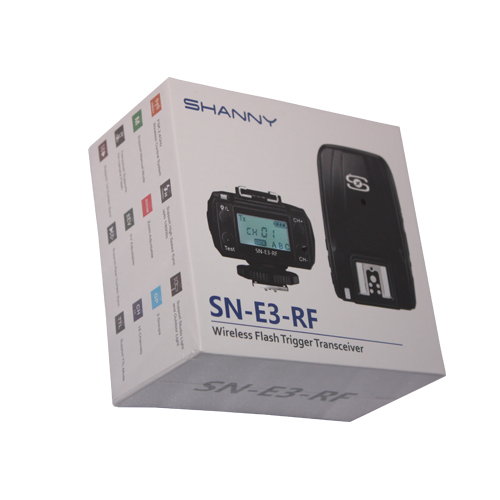 SHANNY SN-E3-RF 2.4G wireless radio transceiver for SN600C-RF flash,TTL trigger,HHS,LCD panel for Canon