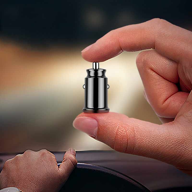 Powstro 3.1A Smart Mini Car Charger Fast Car Charging Dual