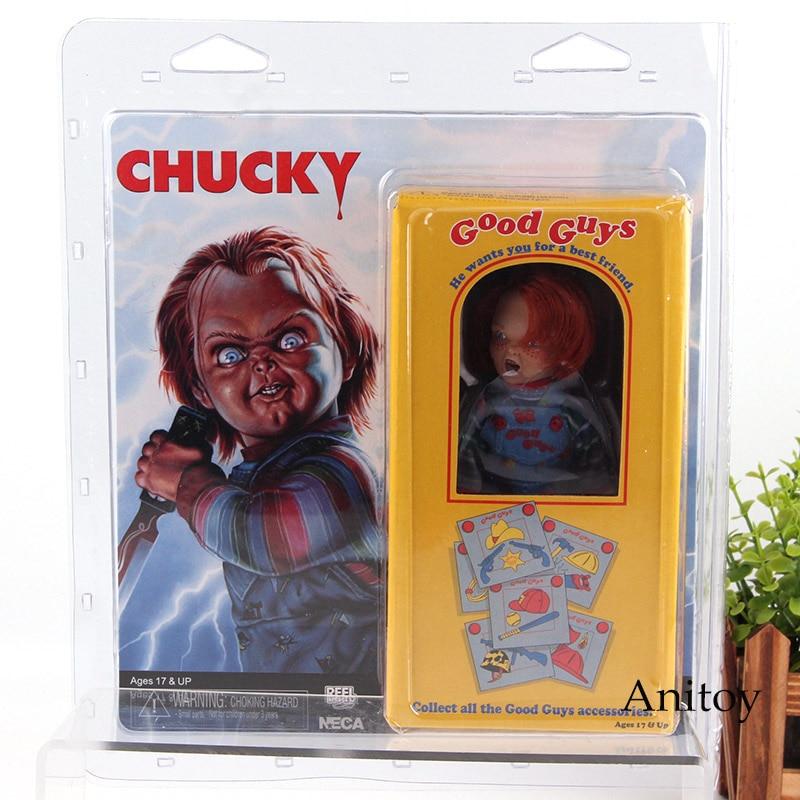 NECA Buona Ragazzi Chucky Giocattolo del Bambino Gioco PVC Azioni Figure Collection Giocattoli di Modello per I Bambini I Bambini Regalo Di Compleanno
