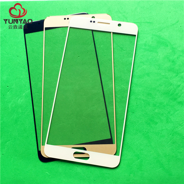 50pcs/lot Replacement LCD Front Touch Screen Glass Outer Lens For Samsung Note 5/N9200/N920F Note5