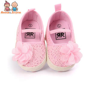Baby Girl Summer Hollow Knit Soft Soled Baby Walking Ballet Dress Mary Jane Babe Cradle Shoes