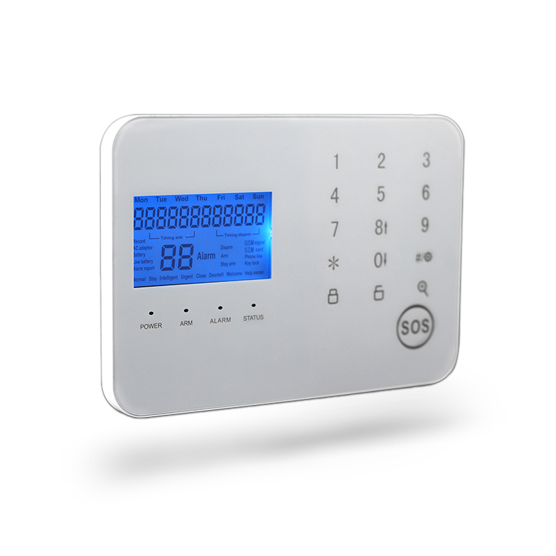 ФОТО GZGMET Spanish voice version APP Remote Control OPERATE GSM Alarm system Home Security  LCD SCREEN touch screen
