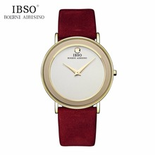 IBSO Simple Couple Watches for Men Women Fashion Quartz
