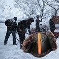 Inverno Ao Ar Livre à prova de Frio-Anti-quebra de Segurança Capacete Anti-vento de Protecção no Trabalho Duro Chapéu com Faixa Reflexiva adulto Cap Trabalho