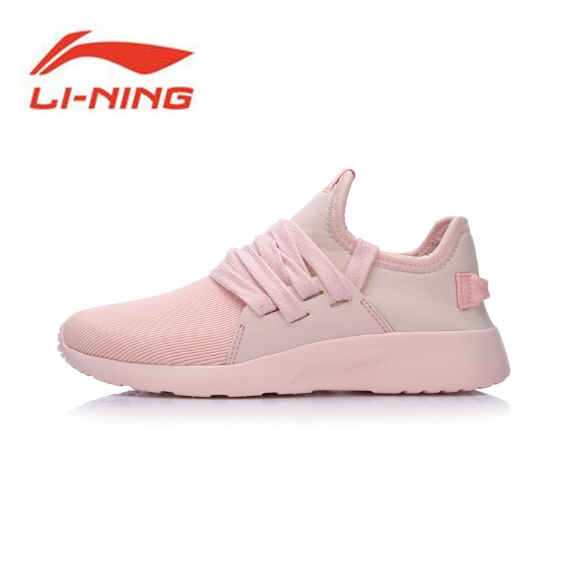 Li-Ning Women Shoes Sports Life Entrylist U300 Walking Shoes Leisure Li Ning Sports Shoes Breathable Sneakers GLKM102 li ning outdoor sports life series wear resisting breathable young steady sport shoes sneakers walking shoes men alck021 xmr1052