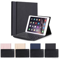 Ultra thin Folding Bluetooth 3.0 Wireless Keyboard Case Cover Tablet Stand For iPad Pro 9.7/Air 1/2