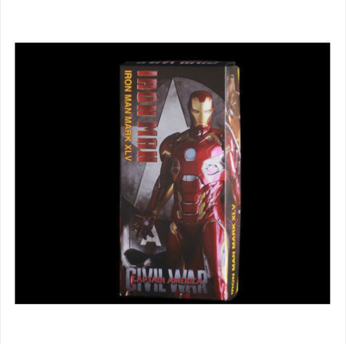 Marvel Universe Iron Man Mark 45 XLV Action Figure Statue Figurines Crazy Toys Anime Figure Collectible Model Toy