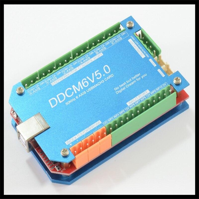 CNC/200 KHz machine de gravure MACH3 USB 3 axes carte de contrôle/panneau de commande/carte d'interface/étape machine paquet