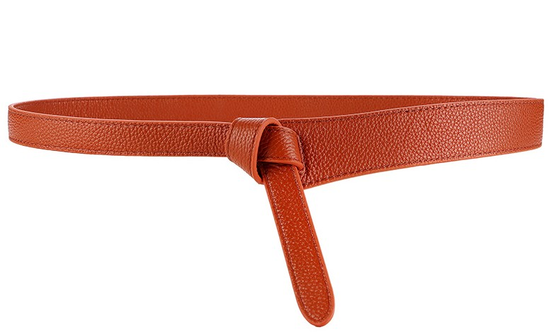 HTB1Cg1OB2uSBuNkHFqDq6xfhVXaq - Luxury Female Belt for Women red Bow design Thin PU Leather Jeans Girdles Loop strap belts bownot brown dress coat accessories