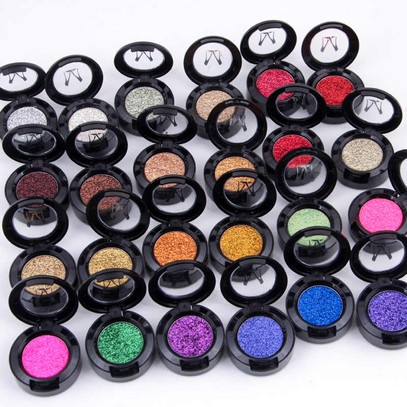 Miss Rose Make Single Glitter Oogschaduw Palet Cosmetica Pigment Zilver Goud Warme Kleur Shimmer Shine Eyeshadow Pallete