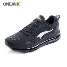 Men Women Running Shoes Mesh Knit Trainers Black Response Cushioned Spring Sole