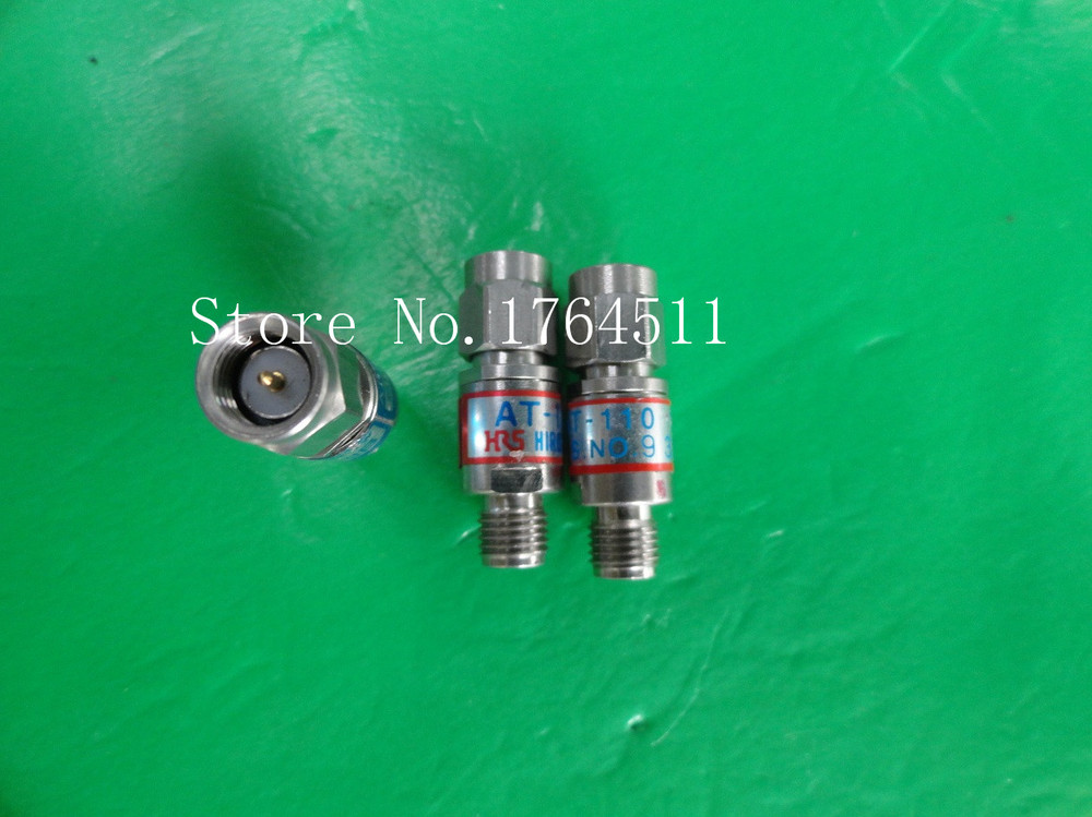 [BELLA] Imported HRS AT-110 DC-18GHz 10dB 2W SMA Coaxial Fixed Attenuator  --3PCS/LOT