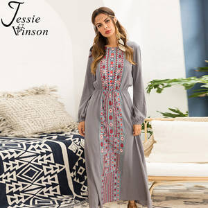 db3ec9b0915 Jessie Vinson Long Sleeve Elegant Plus Size Maxi Dress Boho