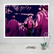 Cowboy Bebop Photo Canvas Poster Painting Tableau Decoration Murale Salon Sheets of Wall Paintings of Nordic Modern Art Plakat