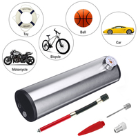 Portable 150PSI 12V Auto Car Air Compressor Bicycle Silver Tire Tyre Inflator Pump Auto Air Compressor with LCD Display New