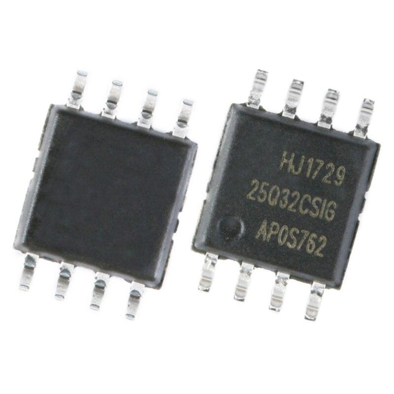 GD25Q32CSIG Memory: NOR Flash; 32Mbit; Quad I/O, SPI; 120MHz; 2.7.3.6V; SOP8