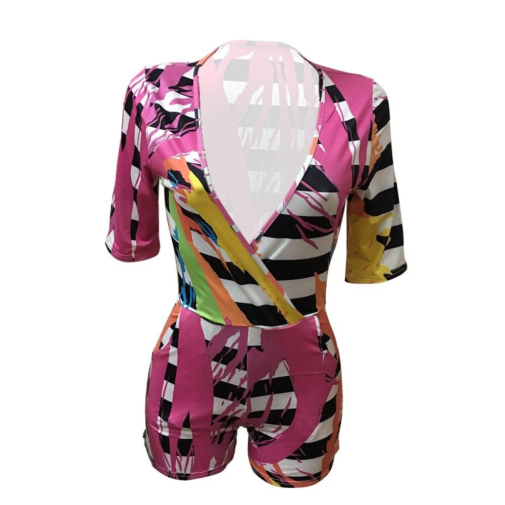 Jumsuit Short 2018 Cap Sleeve Woman Mini Waist Plain Summer Sexy Rompers Women Jumpsuit Playsuit Women Skinny Rompers