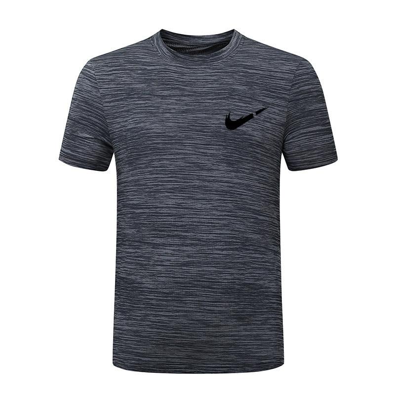 2019 New plus size M~5XL 7XL 8XL summer Brand Tops & Tees Quick Dry Slim Fit   T  -  shirt   Men sporting Clothing Short sleeve   t     shirt