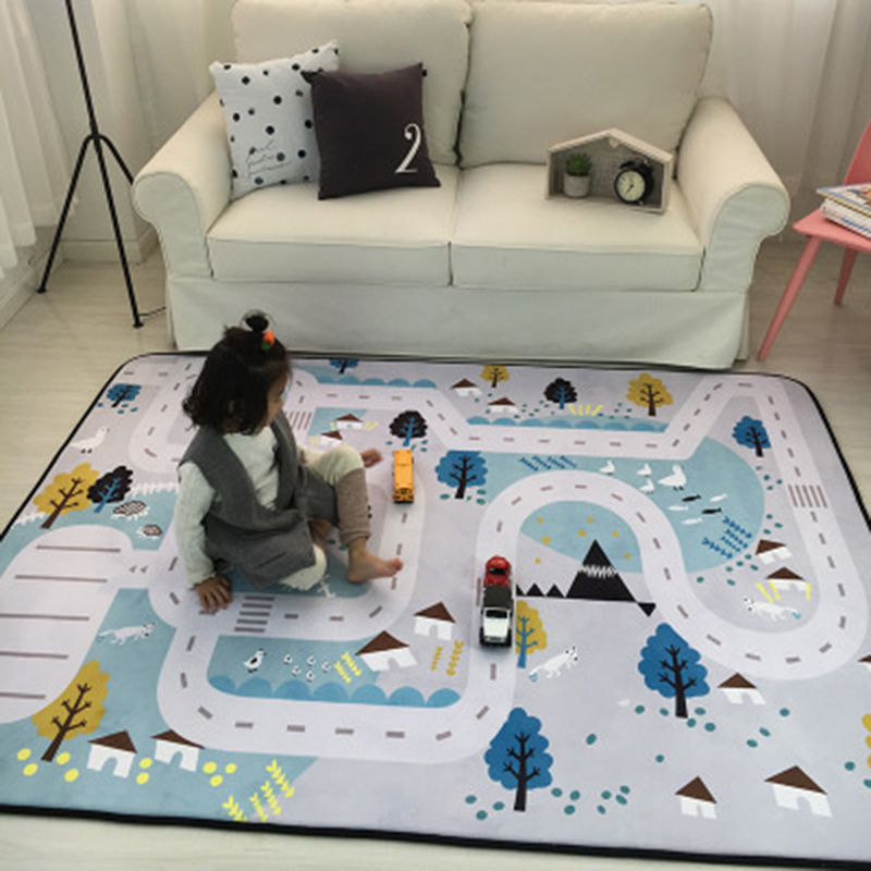 150X200CM Thick Cartoon Carpets For Living Room Soft Rugs For Bedroom Children Play Crawl Floor Mat Anti-Slip Carpet Kids Room150X200CM Thick Cartoon Carpets For Living Room Soft Rugs For Bedroom Children Play Crawl Floor Mat Anti-Slip Carpet Kids Room