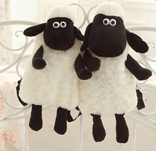 Hot sale 1pc 40cm sweet cute sheep cartoon plush backpacks shoulder bag stuffed toy children baby gift