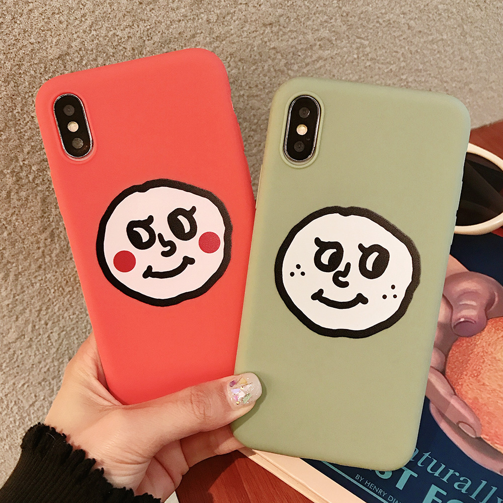 KIPX1076C_1_JONSNOW Couples Style Soft Case for iPhone 7 8 6S 6 Plus Silicone Case for iPhone X XR XS Max Cartoon Painted Back Cover