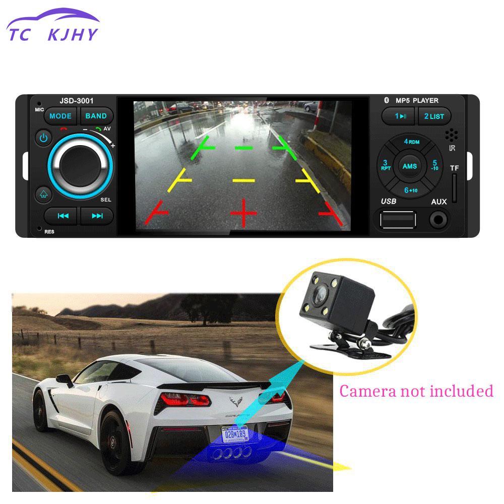 Auto Radio Car Audio 4.1 Inch Tft 1080p Touchscreen In-dash Radio Wireless Remote Control Car Stereo Bluetooth Mp5 Fm Car Player new 7 inch 2din bluetooth car radio video mp5 player auto radio fm 18 channel hd 1080p in dash remote control rear view camera