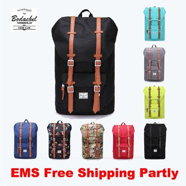 beb7bafe56a0 Herschel Little America Style Backpack High Quality Oxford Men s Travel  Backpack For Teenage Girls Women Boys School Bags