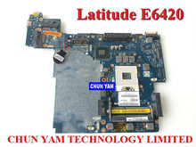 Original CN-07TR3J 7TR3J laptop Notebook Motherboard for Dell Latitude E6420 6420 07TR3J LA-6591P Working Perfect 90Dayswarranty
